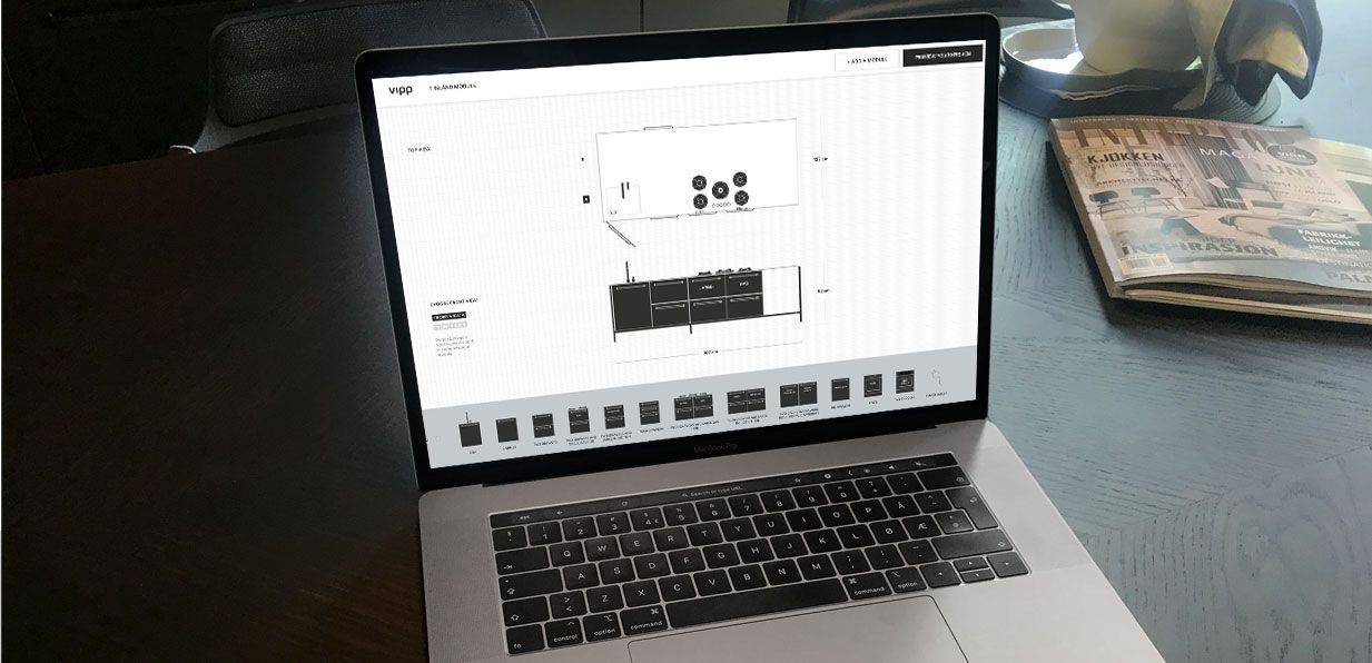 Bygg ditt eget Vipp kjøkken