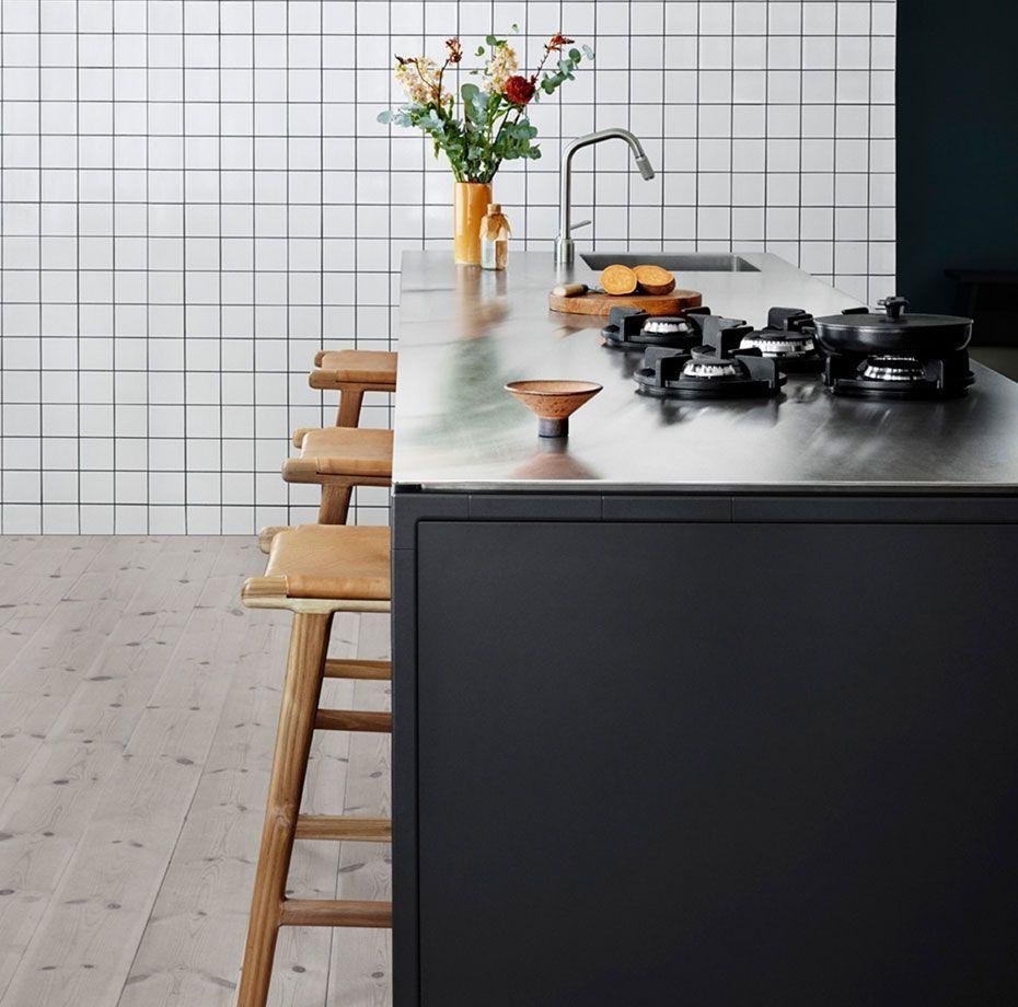 Vipp kjøkkenøy med sitteplasser