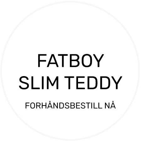 Fatboy Slim Teddy, Anthracite