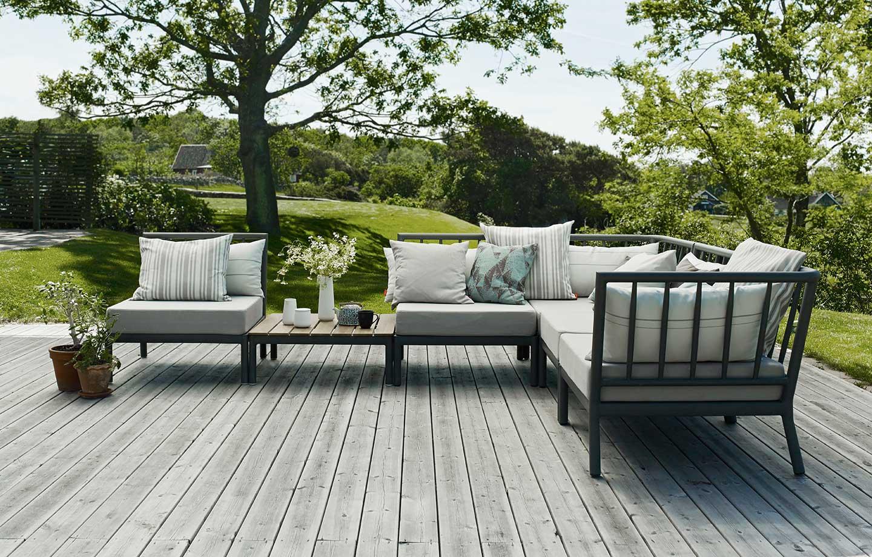 Modulbaserte hagemøbler - Skagerak Tradition